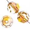 Swarovski Bead 5000 Round 6mm Metallic Sunshine Crystal